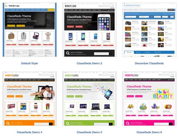 20+ Free Child Classifieds Ads Listing Theme