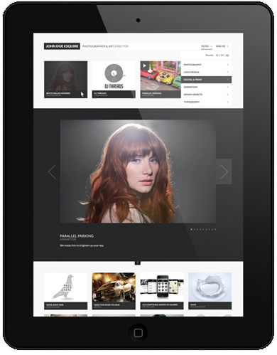 CreativeGrid Pro WordPress Responsive Portfolio Theme by HTML5 & CSS3
