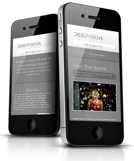 DeepFocus WordPress Responsive Theme