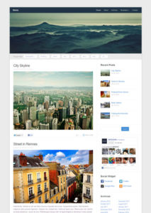 Meeta Free Responsive WordPress Theme for Portfolio & Photography