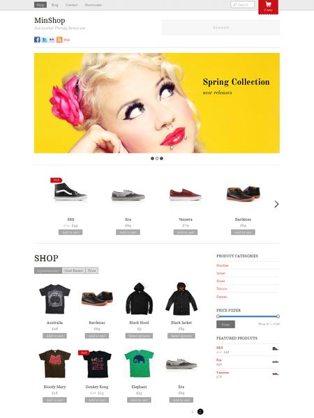 MinShop WordPress eCommerce Theme for WooCommerce Store