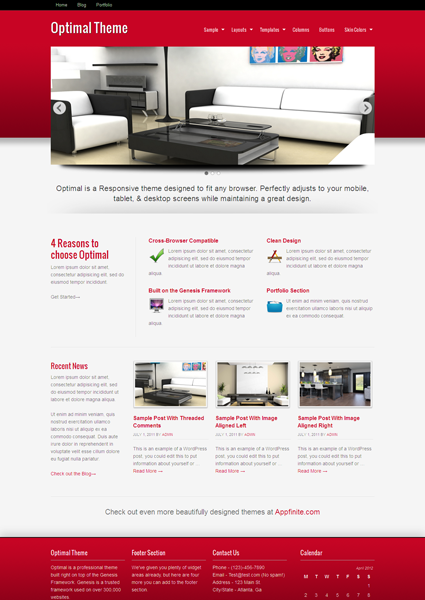 Optimal Child WordPress Theme for Professional Business Companies