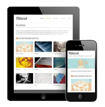 Filtered 2.0 Responsive Design Theme