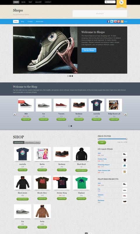 Shopo WordPress WooCommerce Theme
