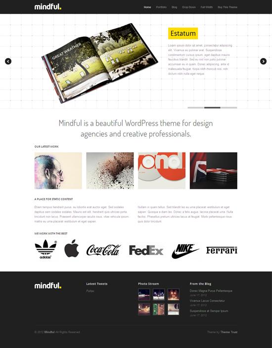 Mindful WordPress Agencies Theme