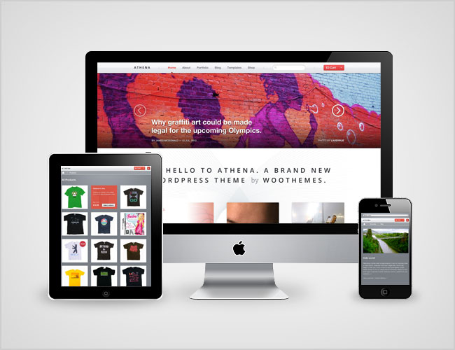 Athena Responsive WordPress Theme