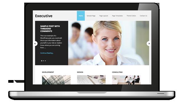 Executive 2.0 Responsive WordPress Theme