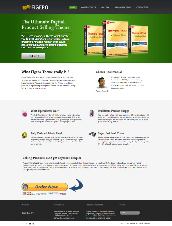 Figero WordPress Digital Apps Theme
