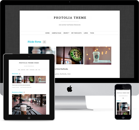 Photolia Responsive WordPress Photo Theme