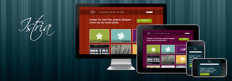 Istria Responsive WordPress Portfolio Theme