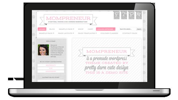 MomPreneur Responsive WordPress Theme