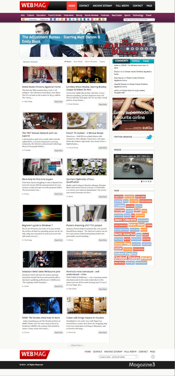 WebMag WordPress Magazine Blog Theme