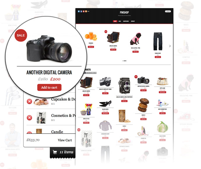 WordPress Pinterest eCommerce Theme