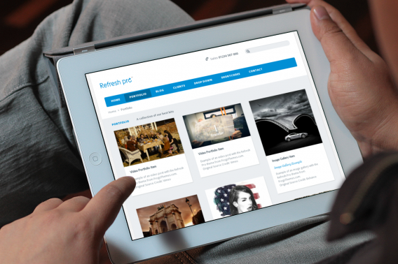 Refresh Pro WordPress Entrepreneurs Theme