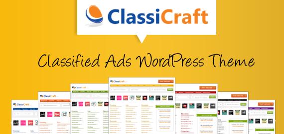 ClassiCraft Classified Ad Listing WordPress Theme