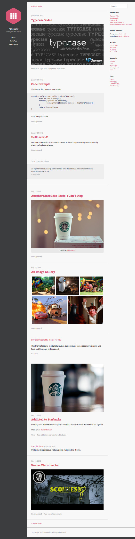 Personality WordPress Retina-Ready Theme