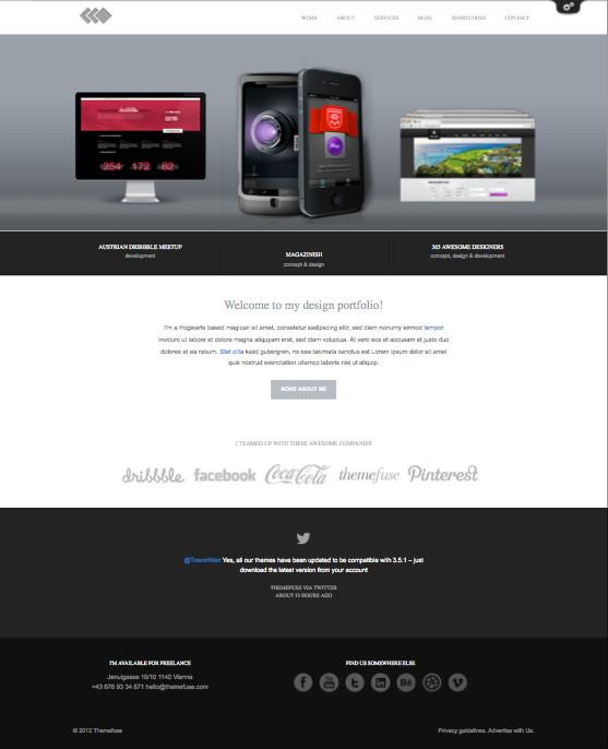 PixelWhiz WordPress Portfolio Designer Theme