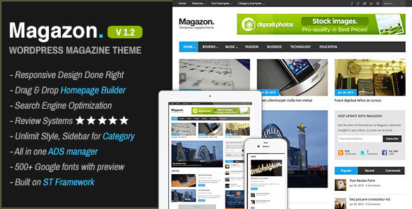 Magazon WordPress Theme