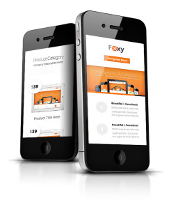 Foxy WordPress iPhone Theme