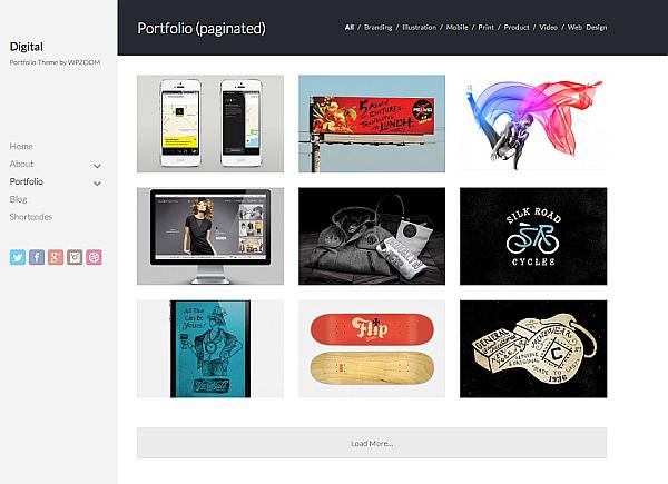 Digital WordPress Freelancers Portfolio Theme