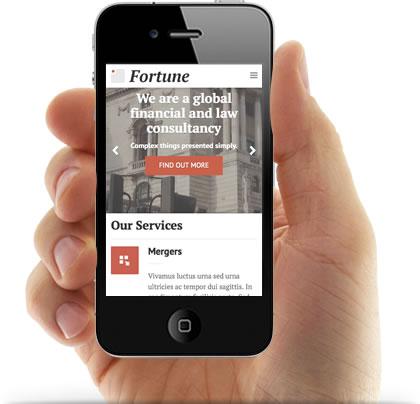 Responsive Fortune WordPress Corporate Theme