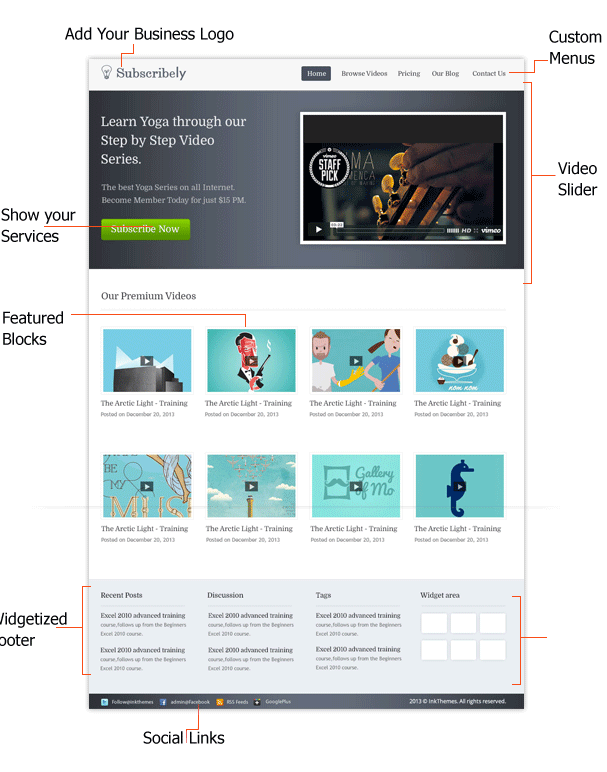 Subscribely-WordPress-Membership-Based-Theme