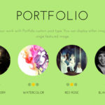 Flat WordPress PortfolioTheme