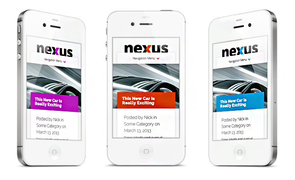 Nexus Responsive WordPress Magazine Theme