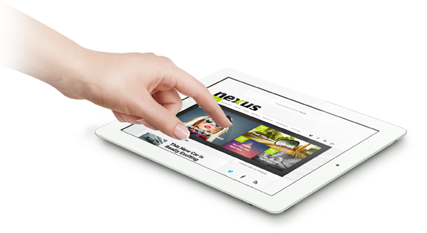 Nexus WordPress iPad Magazine Theme