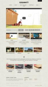 Gigawatt 2.0 – A Vintage Style WordPress Video Blog Theme
