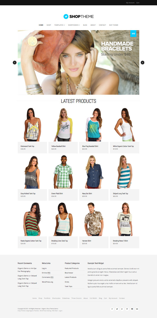 Shop V2 WordPress eCommerce Theme
