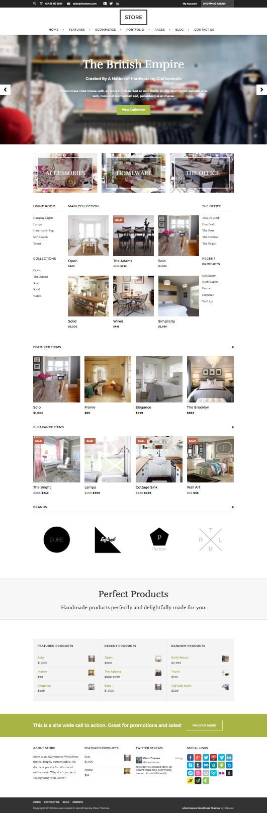 Store Online eCommerce WordPress Theme