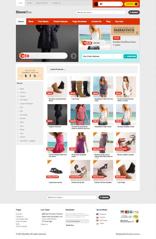 StoreBox WordPress Digital Shopping Theme