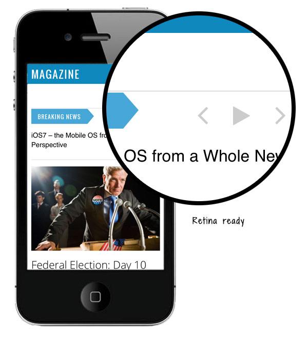 Magazine Responsive WordPress Guardian Theme