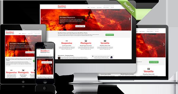 BootStart Responsive WordPress Business Theme