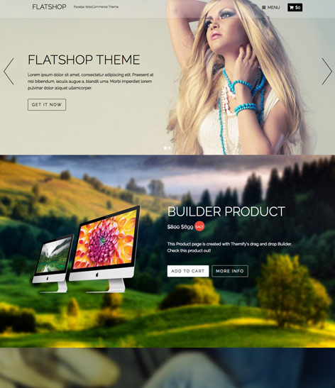 FlatShop WordPress Modern eCommerce Theme