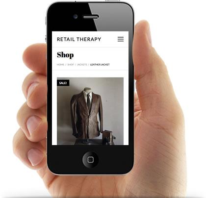 Responsive Retail Therapy WordPress Theme