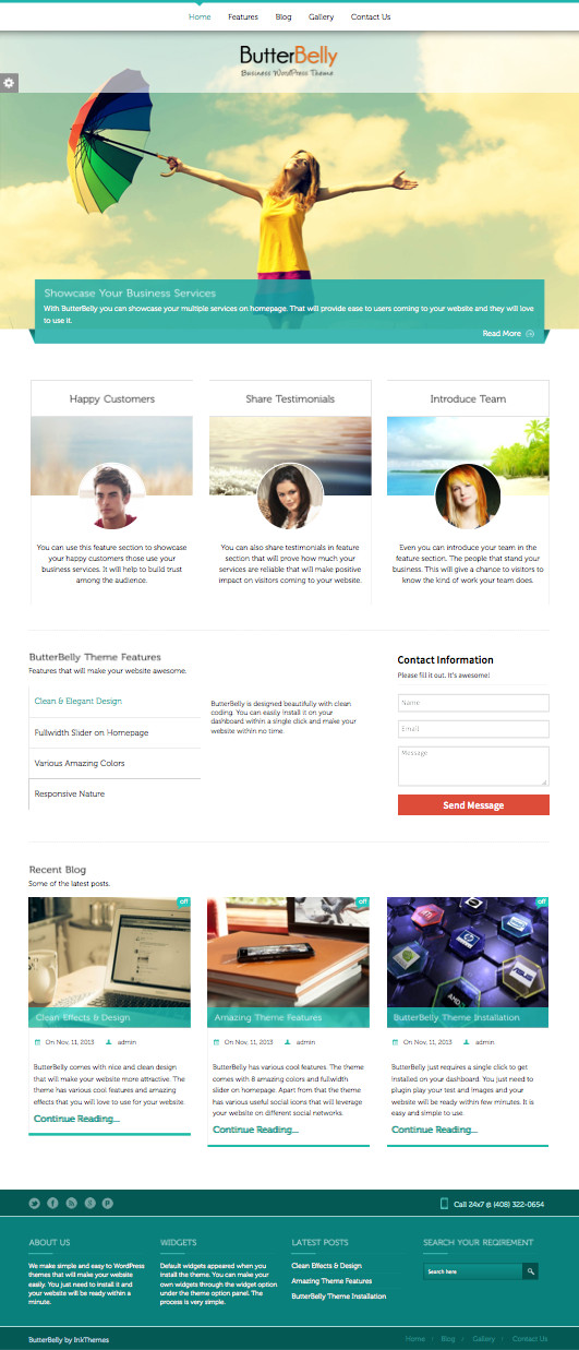 ButterBelly Portfolio Theme – WP Chats