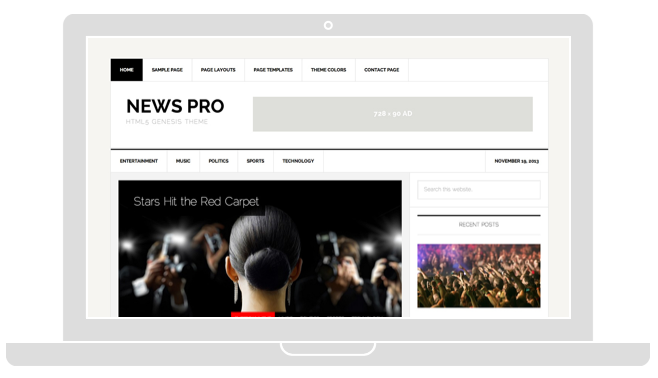WordPress Newspaper or Blog Theme