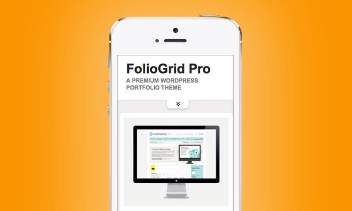 FolioGrid Pro WordPress Pinterest Like Theme