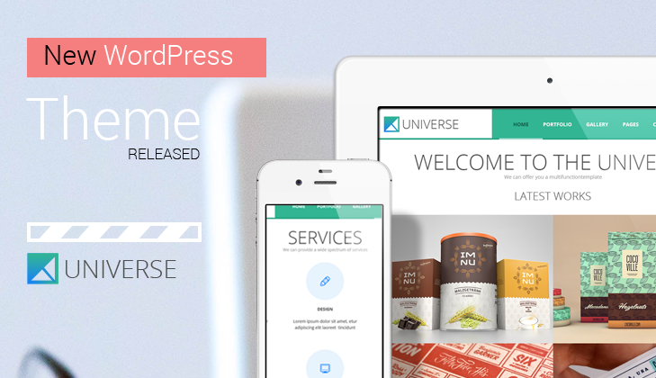 Universe WP Multi-purpose Theme