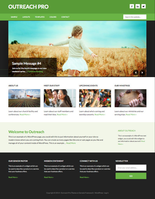 Outreach Pro Churches Theme – Wpchats.com