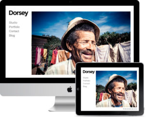 Dorsey – Photographers, Artists & Illustrators Theme