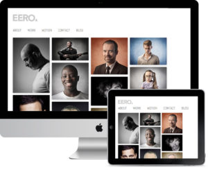 Eero – Responsive HD Portfolio / Photography Theme