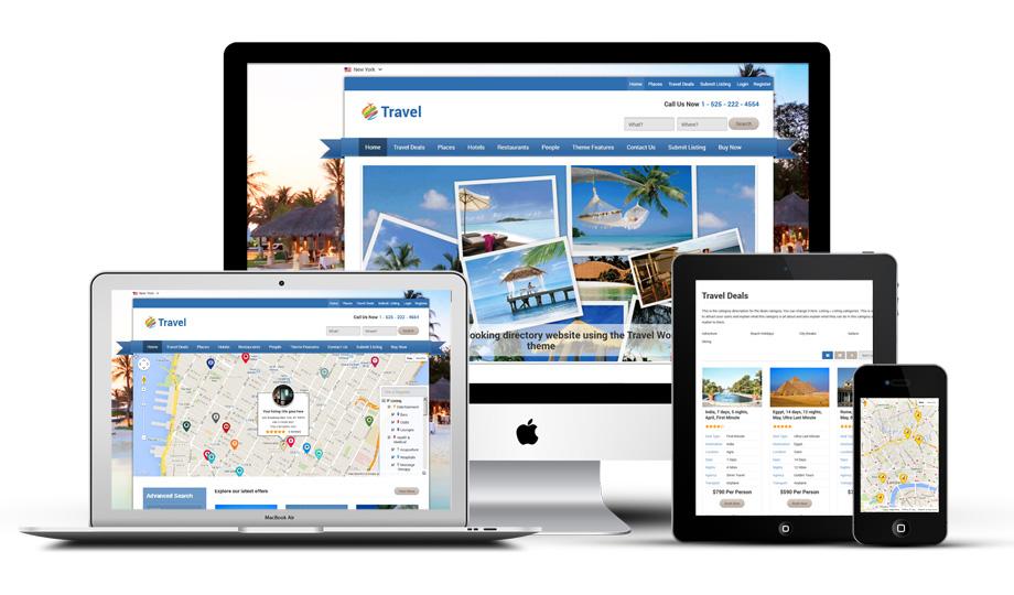 Travel – A Powerful Tourism Portal, Deals, Ratings & Reviews Theme