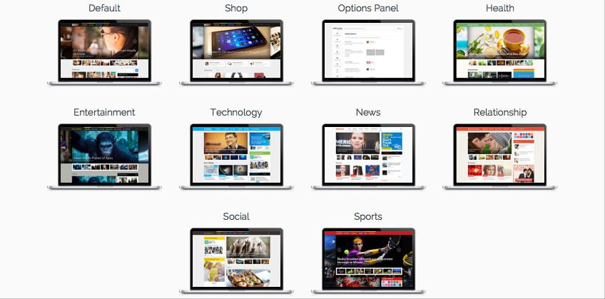 MagXP Responsive WP Magazine Portal Theme