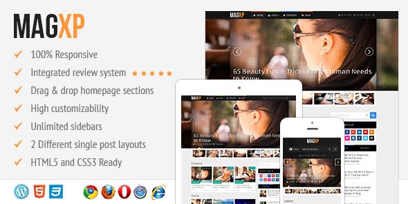 MagXP WordPress Ultimate Magazine Portal Theme