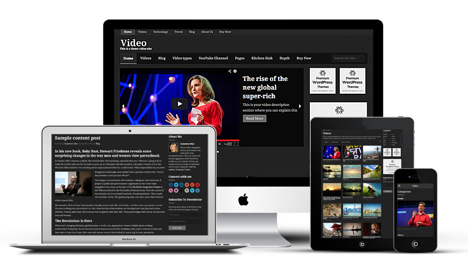 Video Sharing Directory WordPress Theme