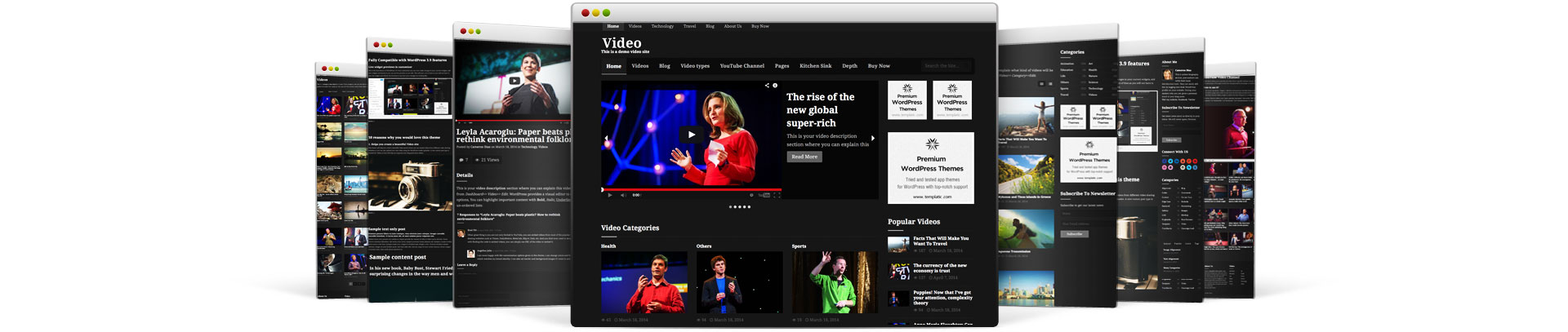 Video WordPress Theme by Templatic
