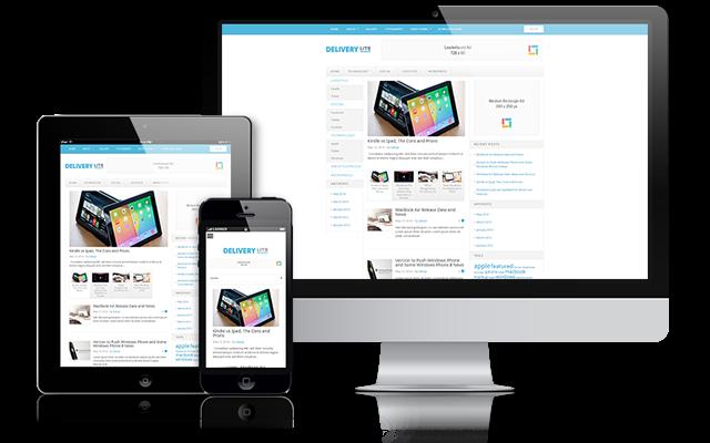 Delivery Lite Free WordPress Magazine Theme